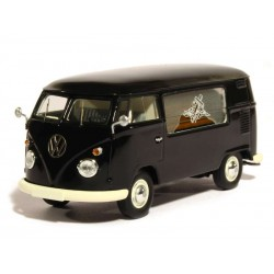 VW T1 Corbillard Noir 1/43
