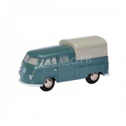 VW T1 Double Cabine Bleu